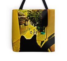 Cat HBO: Home Box office....meow...Got Featured Work Tote Bag