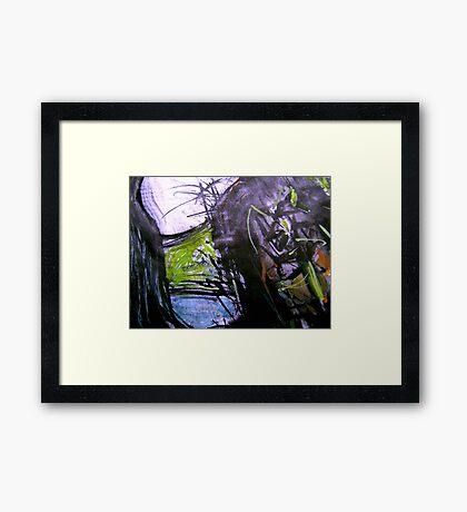 pass rock Framed Print