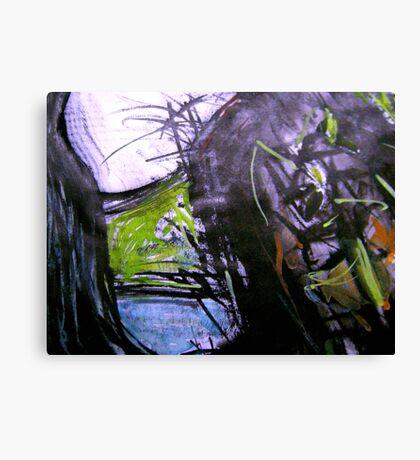 pass rock Canvas Print