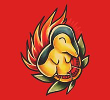 Cyndaquil  Womens Fitted T-Shirt