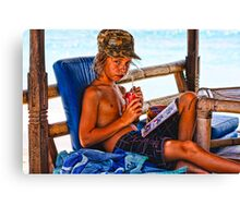 Coke Advertisment! Canvas Print