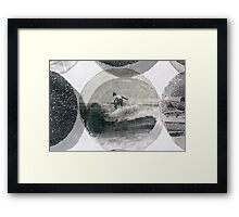 Wave Rider Framed Print