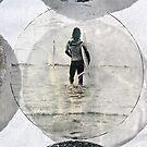 Lone Surfer by Vikki-Rae Burns