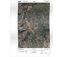 USGS Topo Map Washington State WA Grayback Mountain 20110406 TM Poster