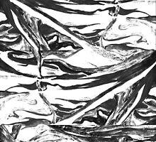 Synapses White Black by nephelea