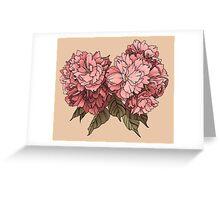 Botanical - Tattoo Flash Greeting Card