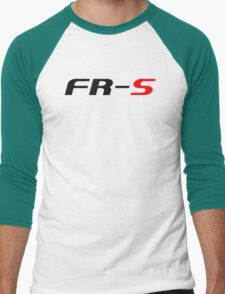 FR-S Fonts Classic Men's Baseball ¾ T-Shirt