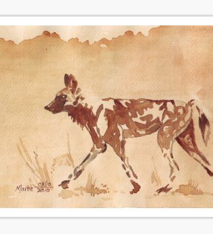 Painted Dog - African Wild Dog Sticker
