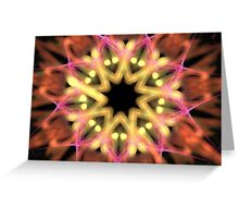 Starry Flower Greeting Card