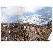 Village in Aremd Poster