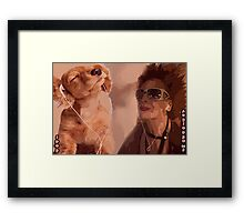 A ciascuno il suo (To Each His own) Framed Print