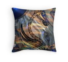 Sea of Eyes Throw Pillow
