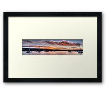 Inspiration  - Newport, Sydney Australia - The HDR Experience Framed Print