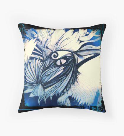 Tui Blue Period Throw Pillow