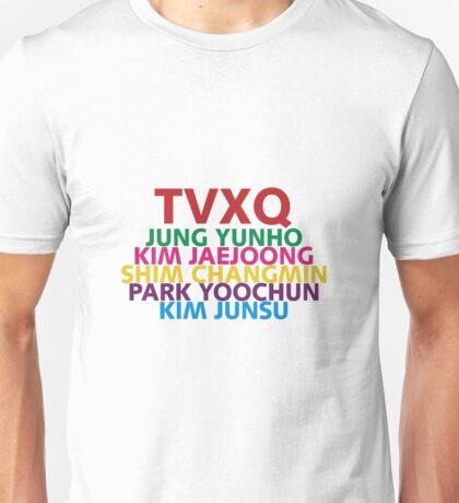 TVXQ 01 Unisex T-Shirt