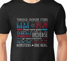 DOCTOR WHO | universe of impossibilities Unisex T-Shirt