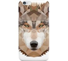 Intense Low Poly Wolf iPhone Case/Skin