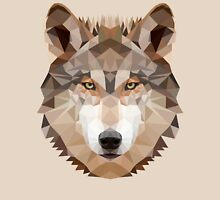 Intense Low Poly Wolf Unisex T-Shirt