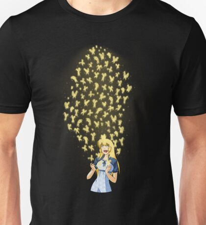 Golden Butterflies Unisex T-Shirt