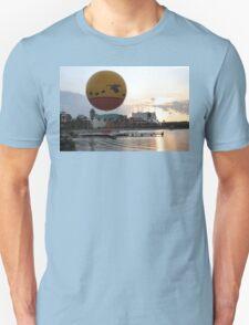 Characters In Flight Balloon Ride In Orlando, Fl Unisex T-Shirt
