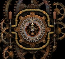 Steampunk Clock by Steve Crompton
