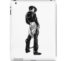 Iori Yagami noir iPad Case/Skin