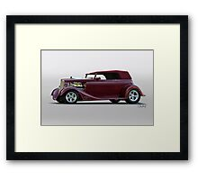 1934 Ford Vicky Convertible Framed Print