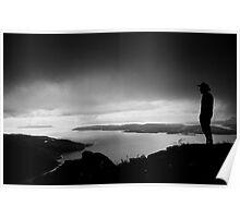 View from Beinn Sgritheall, Kintail, West Highlands, Scotland Poster