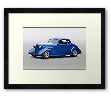 1936 Chevrolet Master Deluxe Coupe Framed Print