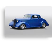 1936 Chevrolet Master Deluxe Coupe Canvas Print
