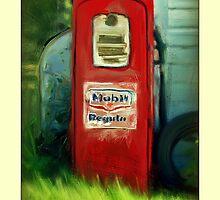 Old pump by Dave  Higgins