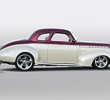 1940 Chevrolet 'Business' Coupe by DaveKoontz