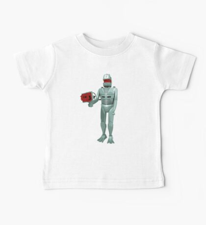 ROM the space knight - retro Action Man (or GI Joe) toy 8-bit style Baby Tee