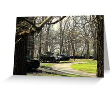 Keep the Guns Silent Forever Greeting Card