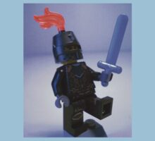 Dragon Knight with Chain Mail, Chain and Helmet with orange plume,  LEGO® Kingdoms Minifigure, by 'Customize My Minifig' by Chillee