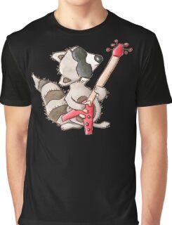 Rocky raccoon Graphic T-Shirt