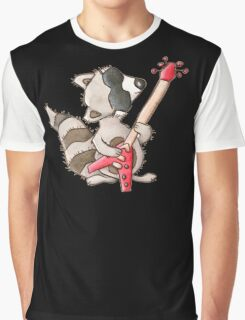 Rocky raccoon Graphic T-Shirt