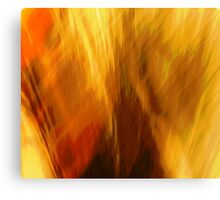 Abtract of  Warm Colors Canvas Print