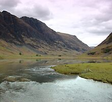 Glencoe Reflection by Ian Porter