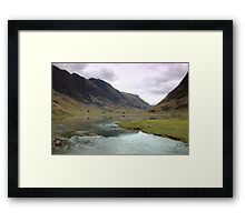Glencoe Reflection Framed Print