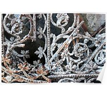Rusted Lace Poster