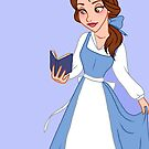 Belle Blue Dress - iPhone Case by Lauren Draghetti