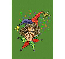 serious jester  Photographic Print