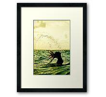 Caribbean Girl 01 Framed Print