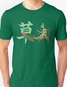 Sceptile With Grass Kanji T-Shirt