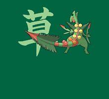 Sceptile With Grass Kanji Unisex T-Shirt