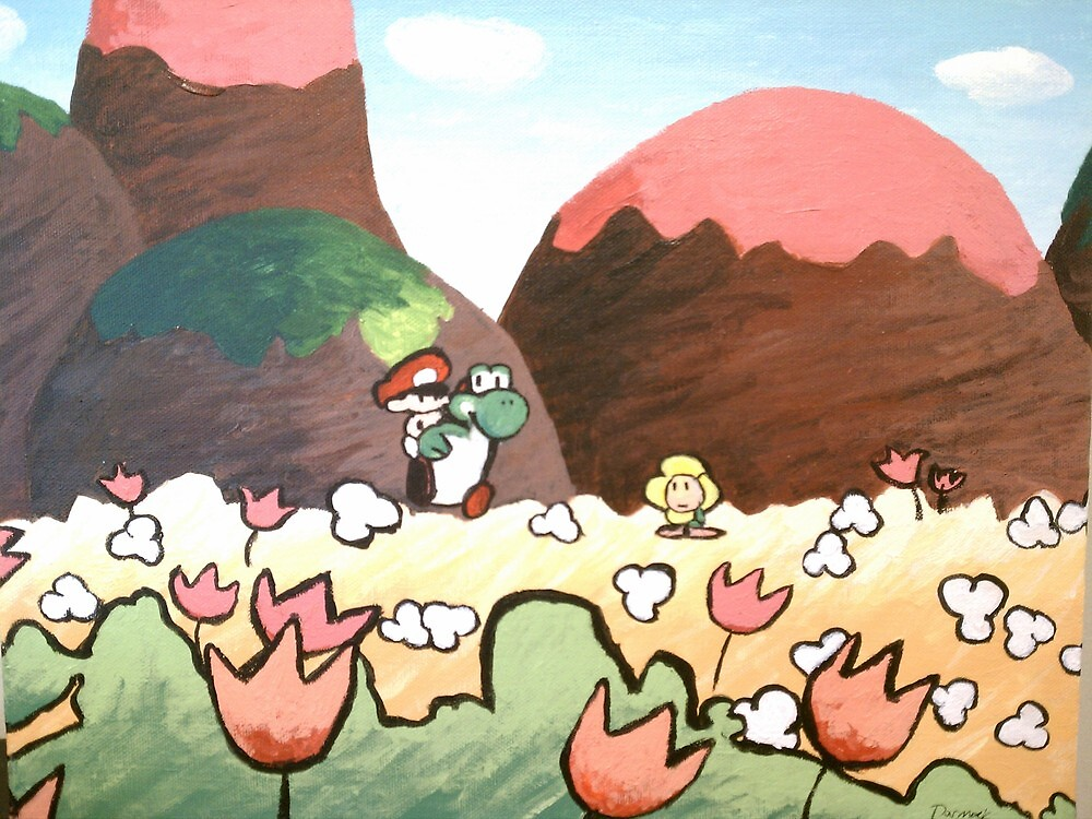Flowers for Yoshi by darmock