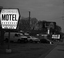 Americana & Hav A Nap (b & w) by Gary Chapple