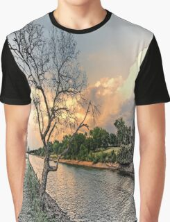 River Tree Graphic T-Shirt