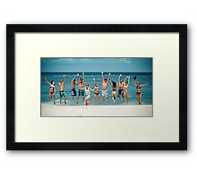 Caribbean Fun! 02 Framed Print